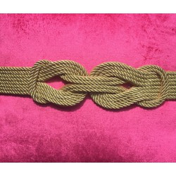 Nana and Jules boho chic  Silk cord Knot belt
